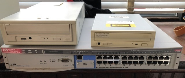 2 CD-ROM Drives and 24 port switcher